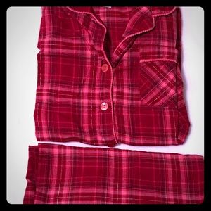 Plaid Flannel Pajama Set - Never Worn!